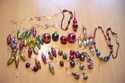 набор ёлочных игрушек для ёлки-малютка ссср
