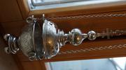 Кадило старинное серебряное. Российская Империя,  Москва,  1880-е гг.