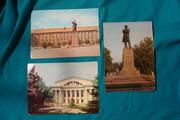 5 открыток виды Саратова с маркой почта СССР 3 коп