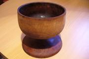 Продам старинную антикварную деревянную чашу