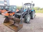 Трактор МТЗ 82.1,  2014 г,  2500 м/ч,  ковш и щетка